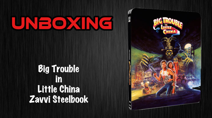 Big Trouble in Little China Steelbook Unboxing