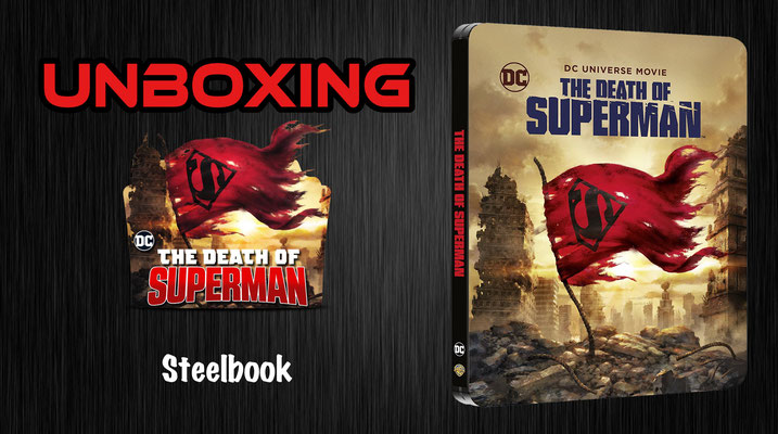 The Death of Superman Steelbook Unboxing