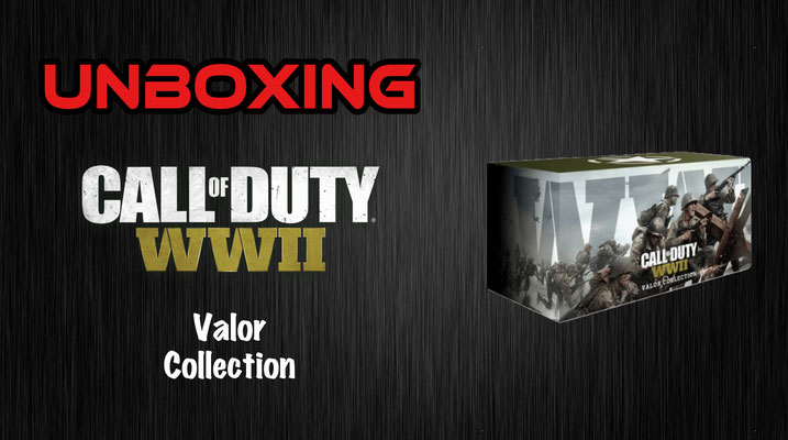 Call of Duty WWII Valor Collection Unboxing