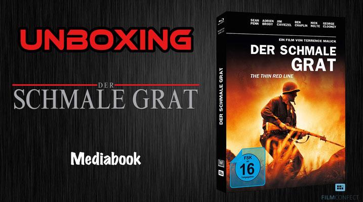 Der Schmale Grat Mediabook FilmConfect Unboxing