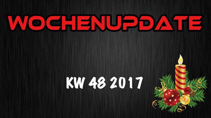 Valerian Driver Wochenupdate KW 48 2017
