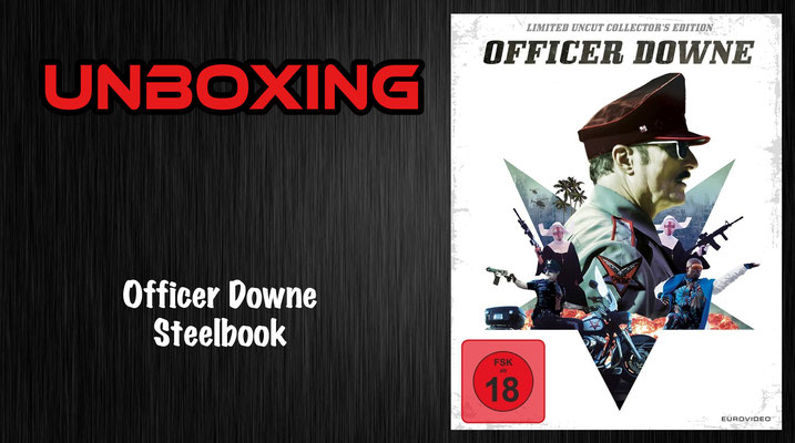 Officer Downe Steelbook Unboxing