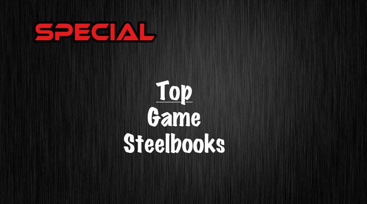 Game Steelbooks