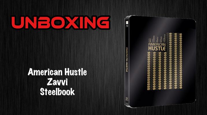 American Hustle Steelbook Unboxing