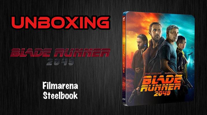 Blade Runner 2049 Filmarena Steelbook Unboxing