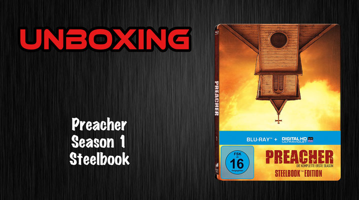 Preacher Season 1 Steelbook