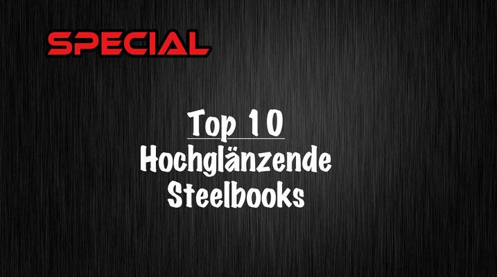 Hochglänzende Steelbooks