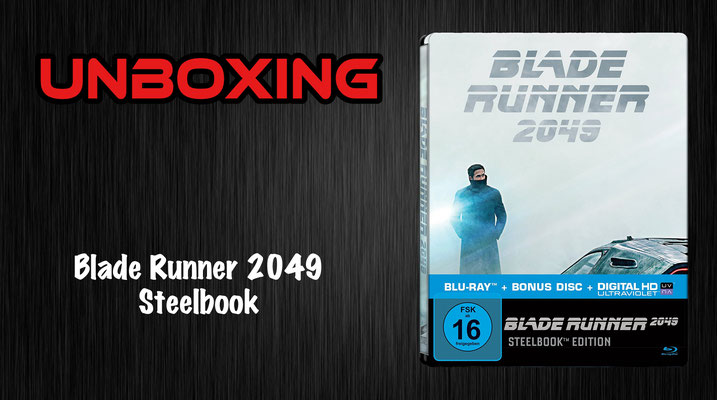 Blade Runner 2049 Steelbook Unboxing