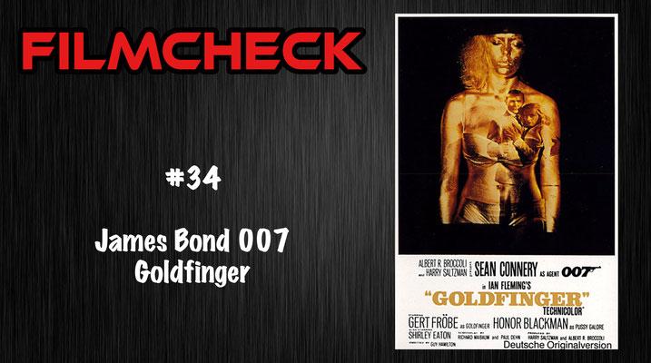 James Bond 007: Goldfinger Filmcheck #34