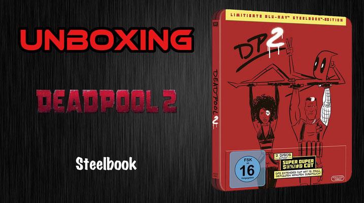 Deadpool 2 steelbook unboxing