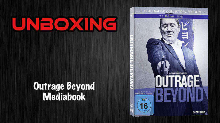 Outrage Beyond Mediabook Unboxing