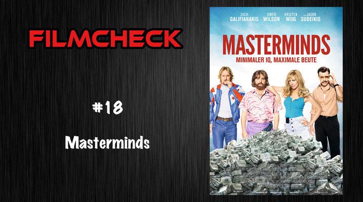 Masterminds im Filmcheck #18
