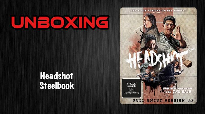 Headshot Steelbook