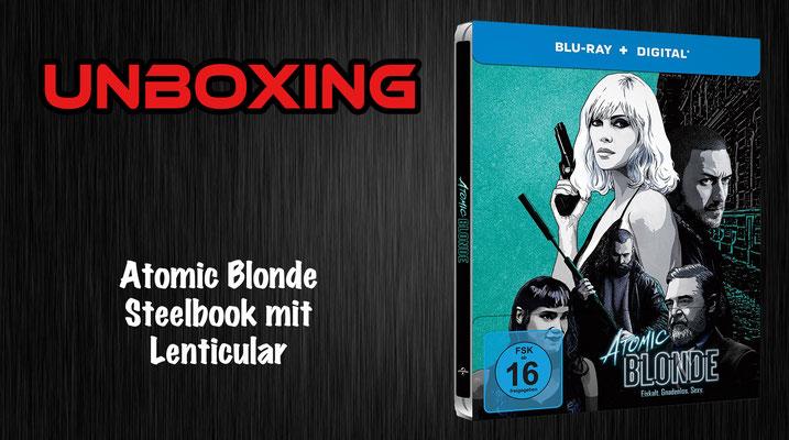 Atomic Blonde Lenticular Steelbook Unboxing