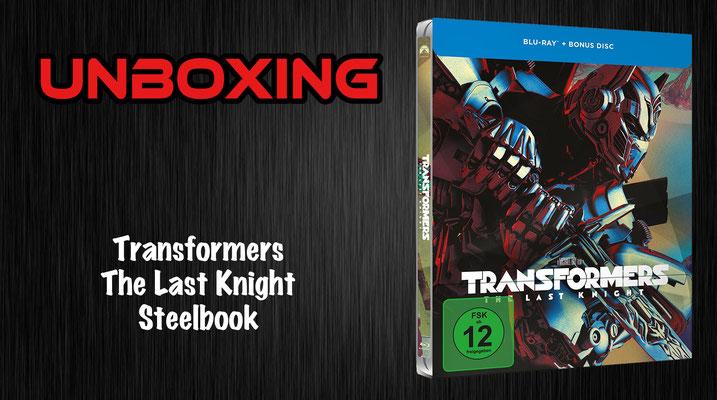 Transformers 5: The Last Knight Steelbook
