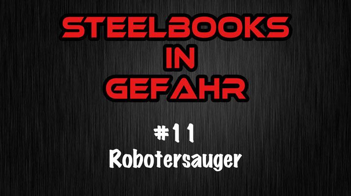 Steelbooks in Gefahr Robotersauger