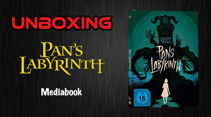 Pans Labyrinth capelight Mediabook Unboxing