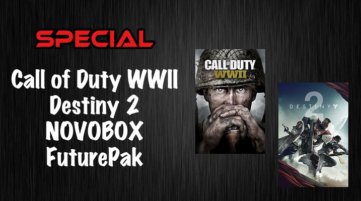 Call of Duty WWII Destiny 2 Novobox