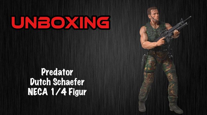 Dutch Figur von Neca aus Predator