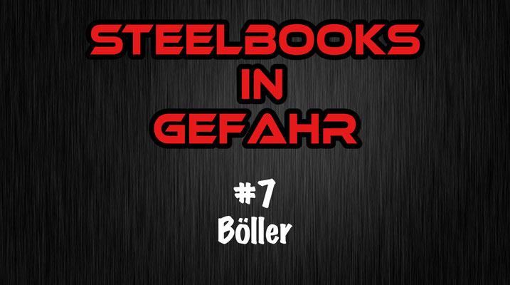Steelbooks in Gefahr Böller