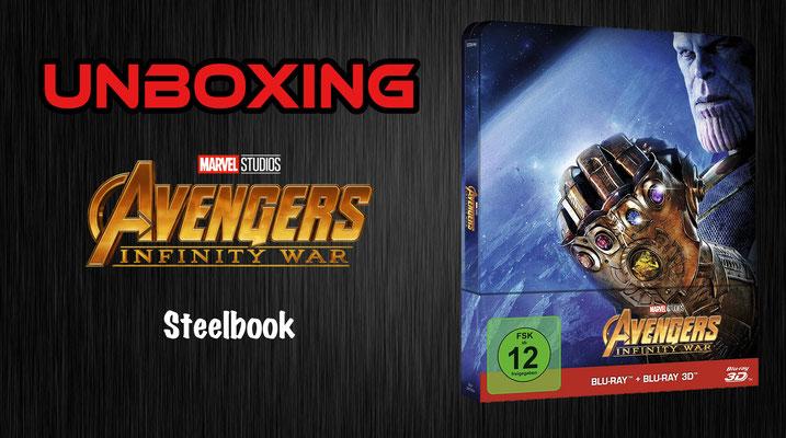Avengers: Infinity War Steelbook Unboxing