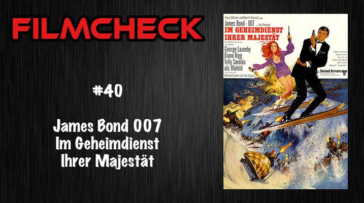 James Bond 007: Im Geheimdienst Ihrer Majestät Filmcheck #40