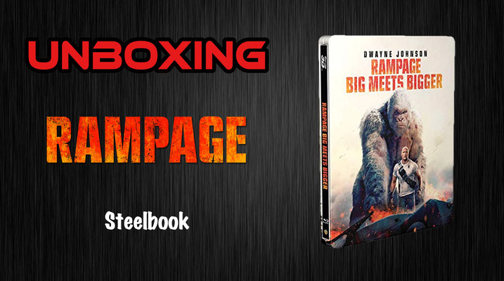 Rampage Steelbook Unboxing