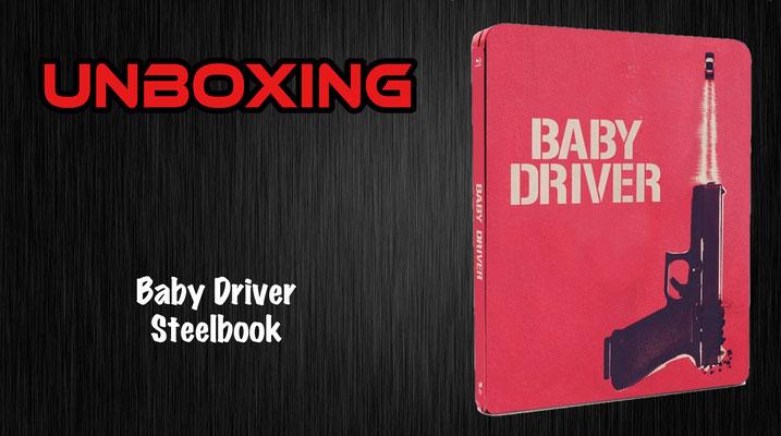 Baby Driver Steelbook Unboxing