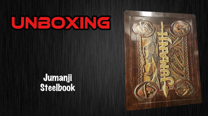 Jumanji Steelbook Unboxing