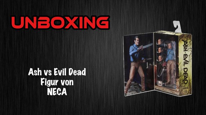Ash vs Evil Dead NECA Figur Unboxing