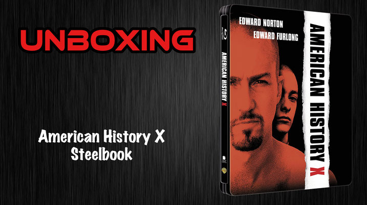 American History X Steelbook Unboxing