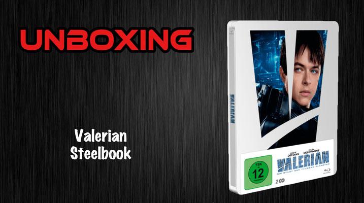 Valerian Steelbook Unboxing