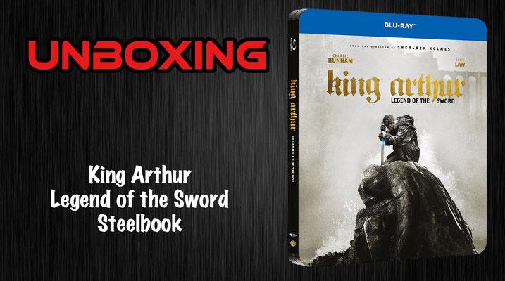 King Arthur Steelbook
