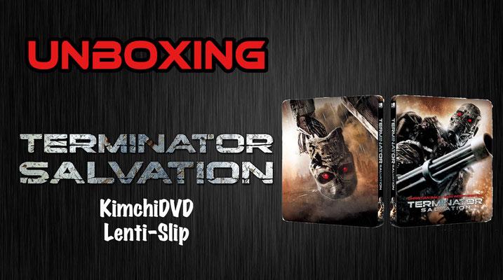 Terminator Salvation KimchiDVD Lenti-Slip Unboxing