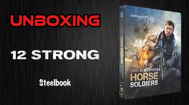 12 Strong Steelbook Unboxing