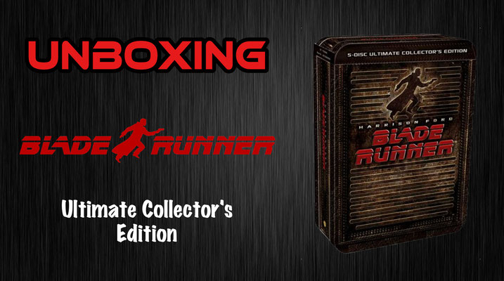 Blade Runner Ultimate Collector's Edition Unboxing