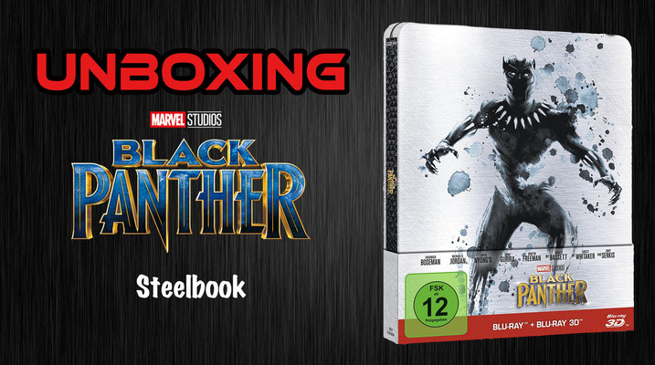 Black Panther Steelbook Unboxing