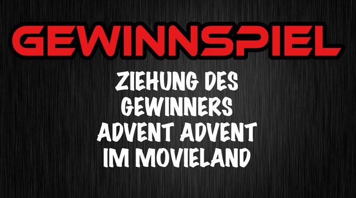 Gewinnspiel Auslosung advent advent im movieland