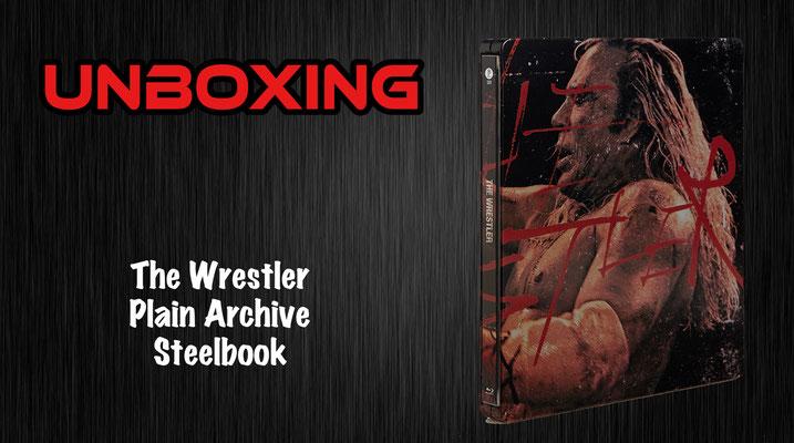 The Wrestler Plain Archive Steelbook