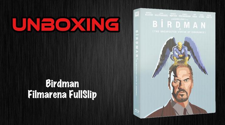 Birdman Filmarena FullSlip Unboxing