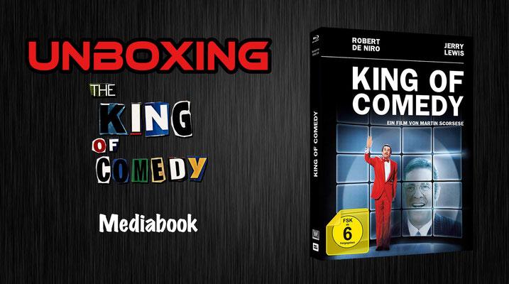 King of Comedy Mediabook Unboxing