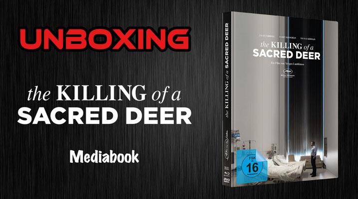 the Killing of a Sacred Deer Mediabook Unboxing