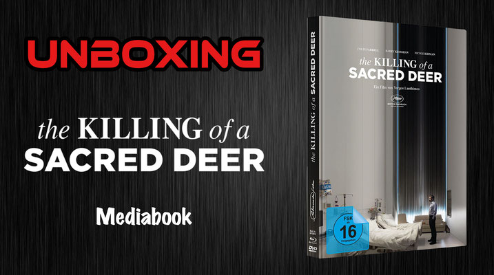 the Killing of a Sacred Deer Mediabook Unboxing