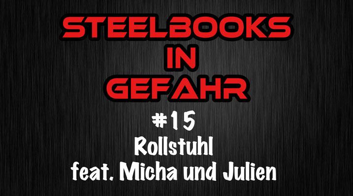 Steelbooks in Gefahr Rollstuhl