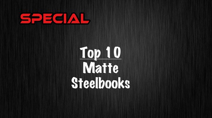 Matte Steelbooks
