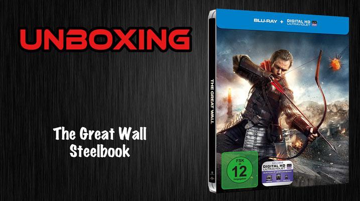 The Great Wall Steelbook