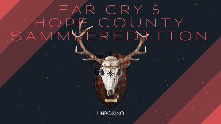 Far Cry 5 Hope County Sammleredition Unboxing