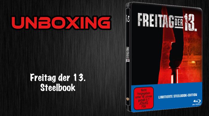 Freitag der 13. Steelbook Unboxing
