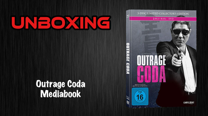 Outrage Coda Mediabook Unboxing