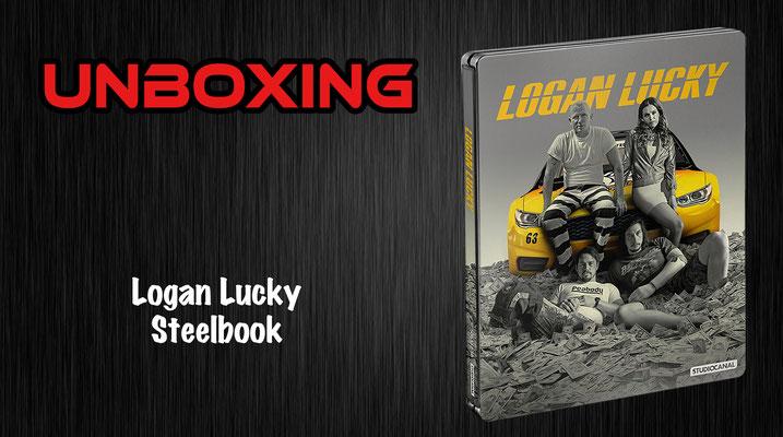 Logan Lucky Steelbook Unboxing
